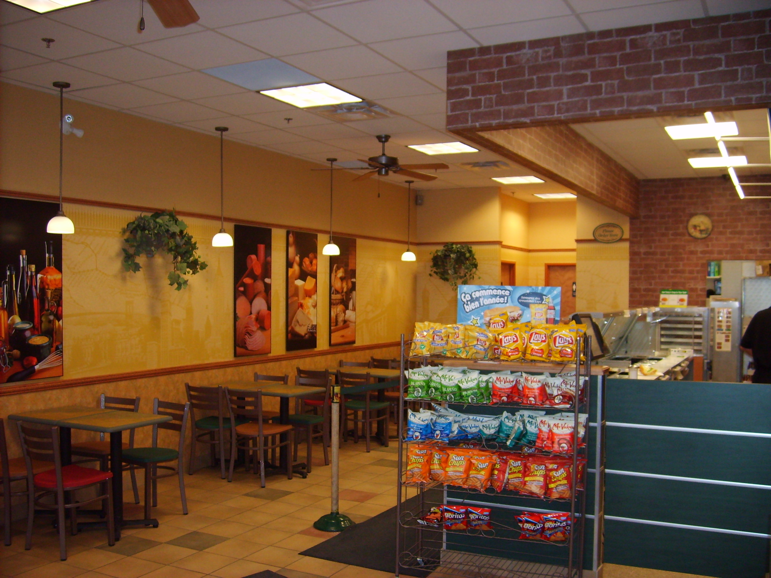 image gallery new subway restaurant